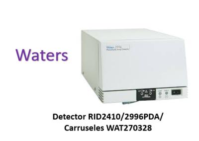 Waters detector RID2410