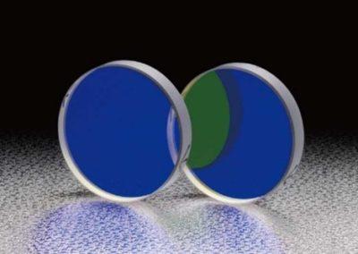 Espejos Dieléctricos de Banda Angular